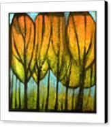 Quiet Blaze Canvas Print