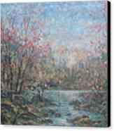 Quiet Evening. Canvas Print