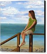 Quiet Moment Canvas Print by Roseann Gilmore