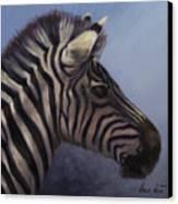 Quiet Profile Canvas Print