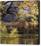 Quiet Waters Canvas Print by Vicky Russell