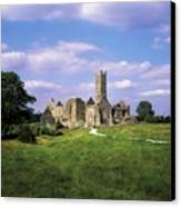 Quin Abbey, Quin, Co Clare, Ireland Canvas Print by The Irish Image Collection
