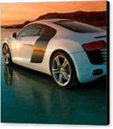 R8 On The Beach 2 Canvas Print by Rory Trappe