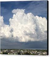 Rain Clouds Over Lake Apopka Canvas Print