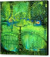 Rain Land II Canvas Print