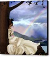 Rainbow Dreamer Canvas Print by Robert Foster