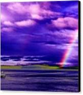 Rainbow Ferry Canvas Print