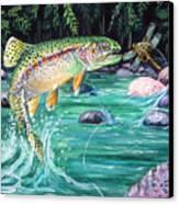 Rainbow Trout Canvas Print