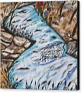 Rainbow Trout  Canvas Print by Jeffrey Koss