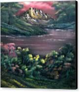 Rainbow Valley Canvas Print by Cynthia Adams