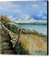 Rambling Walk Canvas Print