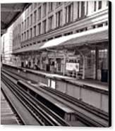 Randolph Street Station Chicago Canvas Print
