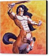 Ranting Centaur Canvas Print