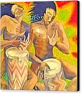 Rasta Rythm Canvas Print