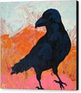 Raven I Canvas Print