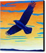 Raven Rising Canvas Print