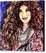 Ravishing Beauty Canvas Print