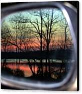 Rearview Mirror Canvas Print