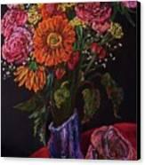 Recital Bouquet Canvas Print by Emily Michaud