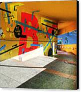 Recoleta Tunnel Canvas Print