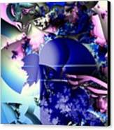 Recombinant F5 Touch Of Pink Canvas Print