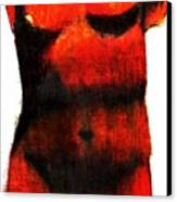 Red Aphrodite Canvas Print