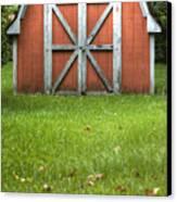 Red Barn Canvas Print by Dustin K Ryan