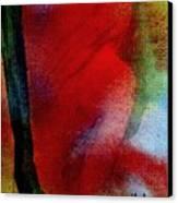 Red Boudoir Canvas Print