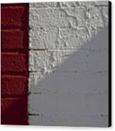 Red Brick White Brick Canvas Print by Robert Ullmann