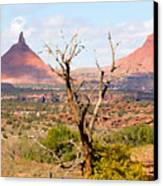 Red Buttes Canvas Print