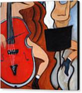 Red Cello 2 Canvas Print