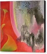 Red Ecstasy 2 Canvas Print