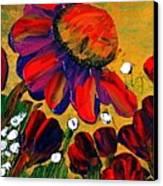 Red Garden Canvas Print