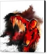 Red Man Canvas Print