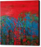 Red Nights Canvas Print