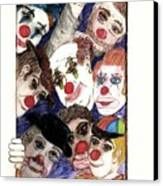 Red Noses Canvas Print by Thomas J Norbeck