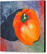 Red Pepper Solo Canvas Print