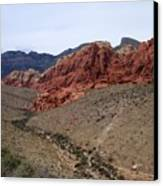 Red Rock Canyon 1 Canvas Print