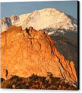 Red Rock Canvas Print by Eric Glaser