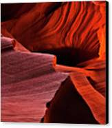 Red Rock Inferno Canvas Print by Mike  Dawson