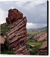Red Rocks Colorado Canvas Print
