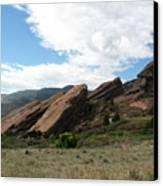 Red Rocks Denver Canvas Print