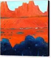 Red Sedona Canvas Print