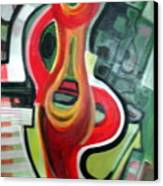 Red Symbol Canvas Print