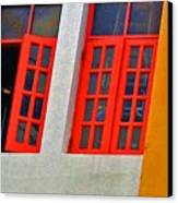 Red Windows Canvas Print