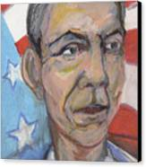 Reelecting Obama In 2012 Canvas Print