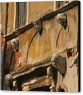Reflection On Canal In Venice II Canvas Print