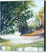 Reflections Canvas Print by Carola Ann-Margret Forsberg