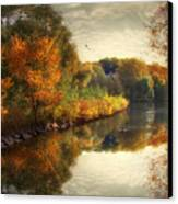 Reflections Of Autumn Canvas Print by Jessica Jenney