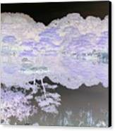 Reflections On A Surreal Pond Canvas Print